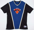 Basketball Collectibles:Uniforms, Mid 1990's Charles Oakley Game Worn New York Knicks ShootingShirt....