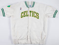 Basketball Collectibles:Uniforms, 1990's Boston Celtics Game Worn Warmup Jacket....