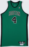Basketball Collectibles:Uniforms, 2008 J.R. Giddens Rookie Photo Shoot Worn Boston Celtics Jersey....