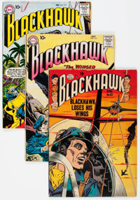 Blackhawk Group of 56 (Quality/DC, 1953-68) Condition: Apparent VG-.... (Total: 56 Comic Books)