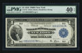 Fr. 713 $1 1918 Federal Reserve Bank Note PMG Extremely Fine 40 EPQ