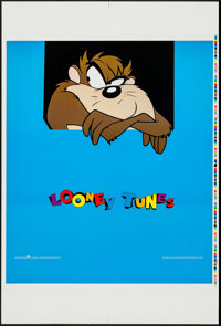 "Looney Tunes (OSP Publishing, 1993). Printer's Proof Character Posters (4) (25.5"" X 38"") Tasmanian Devil Style..."