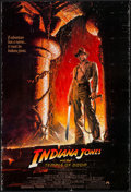 """Movie Posters:Adventure, Indiana Jones and the Temple of Doom (Paramount, 1984). One Sheet(27"""" X 40""""). Adventure.. ..."""