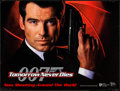 "Movie Posters:James Bond, Tomorrow Never Dies (United Artists, 1997). British Quad (30"" X40"") DS Advance. James Bond.. ..."
