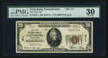 National Bank Notes:Pennsylvania, Gettysburg, PA - $20 1929 Ty. 1 The First NB Ch. # 311. ...