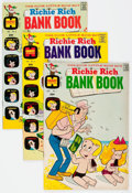 Bronze Age (1970-1979):Humor, Richie Rich Bank Book #1-59 Complete Run File Copy Short Box Group(Harvey, 1972-82) Condition: Average VF+....