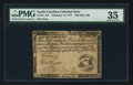 Colonial Notes:South Carolina, South Carolina February 14, 1777 $20 PMG Choice Very Fine 35.. ...