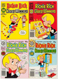 Bronze Age (1970-1979):Cartoon Character, Richie Rich Digest Winners #1-16 File Copy Long Box Group (Harvey,1977-82) Condition: Average NM-....