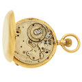 Timepieces:Pocket (post 1900), Maker Unknown Of A 18k Gold Hunter's Case For Parts Or Repair. ...