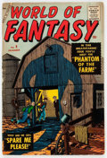 Golden Age (1938-1955):Science Fiction, World of Fantasy #9 (Atlas, 1957) Condition: VG-....