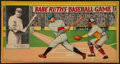 Baseball Collectibles:Others, 1936 Babe Ruth's Baseball Game by Milton Bradley. ...