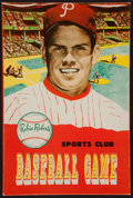 Baseball Collectibles:Others, 1952 Robin Roberts Sports Club Baseball Board Game....