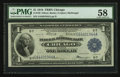 Fr. 729 $1 1918 Federal Reserve Bank Note PMG Choice About Unc 58