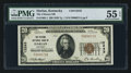 National Bank Notes:Kentucky, Harlan, KY - $20 1929 Ty. 1 The Citizens NB Ch. # 12243. ...
