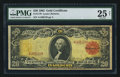 Large Size:Gold Certificates, Fr. 1180 $20 1905 Gold Certificate PMG Very Fine 25 Net.. ...