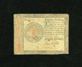 Colonial Notes:Continental Congress Issues, Continental Currency January 14, 1779 $80 Very Fine. Wholesomeedges except for the approximate quarter inch tear in the upp...