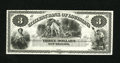 Obsoletes By State:Louisiana, New Orleans, LA- Citizens' Bank of Louisiana $3 18__. This nice black and white remainder features the Hunter vignette. ...