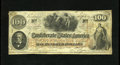 Confederate Notes:1862 Issues, T41 $100 1862. This Scroll 1 note is printed on watermarked CSA script paper. The back corners reveal evidence of once being...