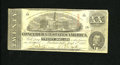 Confederate Notes:1863 Issues, T58 $20 1863. No edge tears on this 1st Series $5. Fine....