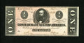 Confederate Notes:1864 Issues, T71 $1 1864. Periods are before the plate letters, while traces of periods are after the plate letters, too. A perusal of th...