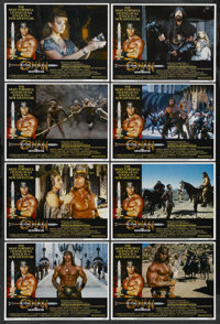 """Conan the Destroyer (Universal, 1984). Lobby Card Set of 8 (11"""" X 14""""). Action. ... (Total: 8 Items)"""
