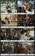 """Movie Posters:Action, Commando (20th Century Fox, 1985). Lobby Card Set of 8 (11"""" X 14""""). Action. ... (Total: 8 Items)"""