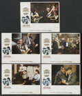 "Movie Posters:Crime, The Sting (Universal, 1974). Lobby Cards (5) (11"" X 14""). Crime.... (Total: 5 Items)"