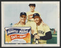"""Movie Posters:Sports, Safe at Home (Columbia, 1962). Lobby Card (11"""" X 14""""). Sports. ..."""