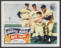 "Movie Posters:Sports, Safe at Home (Columbia, 1962). Lobby Card (11"" X 14""). Sports. ..."