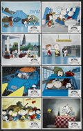 "Movie Posters:Animated, Bon Voyage, Charlie Brown (Paramount, 1980). Lobby Card Set of 8(11"" X 14""). Animated. ... (Total: 8 Items)"