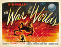 "Movie Posters:Science Fiction, The War of the Worlds (Paramount, 1953). Half Sheet (22"" X 28"")Style A...."