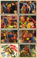 """Movie Posters:Comedy, Wild and Woolly (20th Century Fox, 1937). Lobby Card Set of 8 (11""""X 14""""). ... (Total: 8 Items)"""
