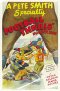 """Movie Posters:Sports, Football Thrills (MGM, 1950). One Sheet (27"""" X 41""""). ..."""