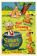 "Movie Posters:Animated, Spare the Rod (RKO, 1954). One Sheet (27"" X 41""). ..."