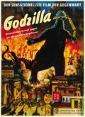"Movie Posters:Science Fiction, Godzilla (Toho, 1954). German A1 (24"" X 33""). ..."