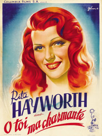 """You Were Never Lovelier (Columbia, 1942). French Petite (23.5"""" X 31.5"""")"""