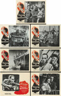 "Movie Posters:War, Passage to Marseille (Warner Brothers, 1944). Title Lobby Card andLobby Cards (6) (11"" X 14""). ... (Total: 7 Items)"