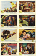 "Movie Posters:Western, Three Godfathers (MGM, 1948). Lobby Card Set of 8 (11"" X 14""). ...(Total: 8 Items)"