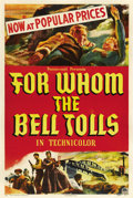 """Movie Posters:Drama, For Whom the Bell Tolls (Paramount, 1943). One Sheet (27"""" X 41"""")Style B. ..."""