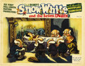 "Movie Posters:Animated, Snow White and the Seven Dwarfs (RKO, 1937). Lobby Card (11"" X14""). ..."