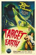 "Movie Posters:Science Fiction, Target Earth (Allied Artists, 1954). One Sheet (27"" X 41"")...."