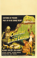 "Movie Posters:Horror, Creature From the Black Lagoon (Universal International, 1954).Window Card (14"" X 22""). ..."