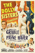 """Movie Posters:Musical, The Dolly Sisters (20th Century Fox, 1945). One Sheet (27"""" X 41""""). Betty Grable and June Haver star in this musical extravag..."""