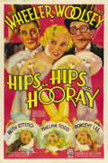 "Movie Posters:Comedy, Hips, Hips, Hooray (RKO, 1934). One Sheet (27"" X 41""). ..."