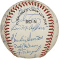 Autographs:Baseballs, 1990 New York Mets Old Timers Day Multi-Signed Baseball. The 1990Mets Old Timers game was attended by many of baseballs lu...