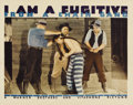 "Movie Posters:Film Noir, I Am a Fugitive From a Chain Gang (Warner Brothers, 1932). Lobby Card (11"" X 14""). ..."