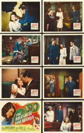 "Movie Posters:Crime, The Brasher Doubloon (20th Century Fox, 1946). Lobby Card Set of 8(11"" X 14""). ... (Total: 8 Items)"