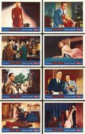 """Movie Posters:Hitchcock, Dial M for Murder (Warner Brothers, 1954). Lobby Card Set of 8 (11"""" X 14""""). ... (Total: 8 Items)"""