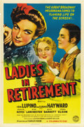 """Movie Posters:Drama, Ladies in Retirement (Columbia, 1941). One Sheet (27"""" X 41""""). ..."""