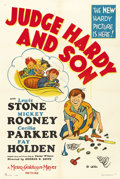 """Movie Posters:Comedy, Judge Hardy and Son (MGM, 1939). One Sheet (27"""" X 41"""") Style D. ..."""